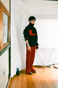 kudos 「 MY OLD CORDUROY TROUSERS / RED 」