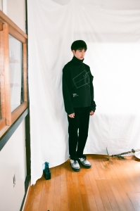 kudos 「 MY OLD CORDUROY TROUSERS / BLACK 」