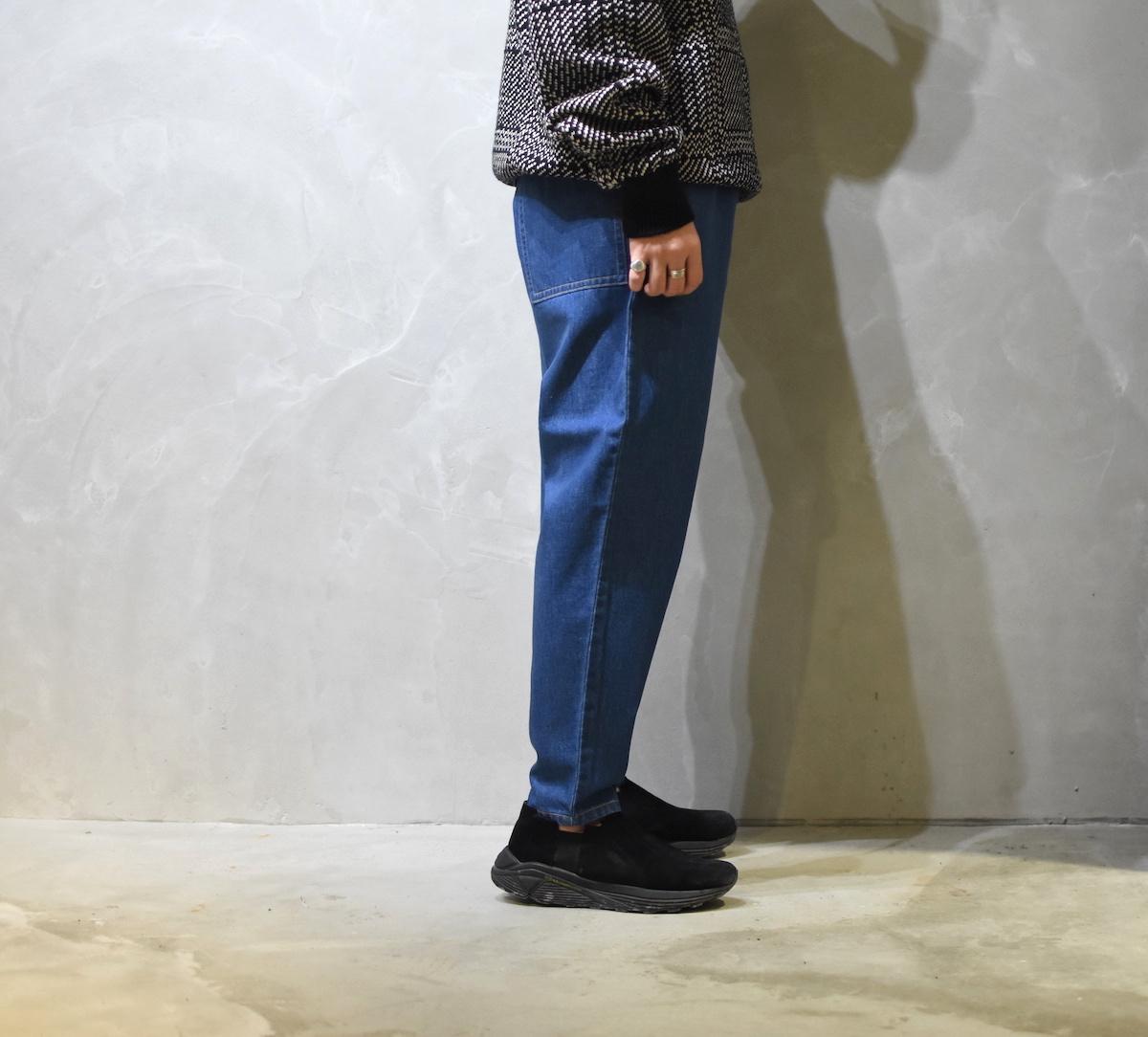 gourmet jeans「 TYPE 03 - LEAN / COATING BLUE *SISTER EXCLUSIVE 」