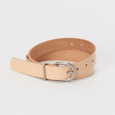 Hender Scheme「 tanning belt - patent cow leather 」