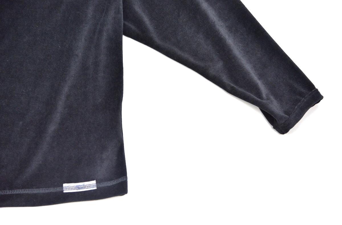 gourmet jeans 「 Velours L/S - BLACK 」