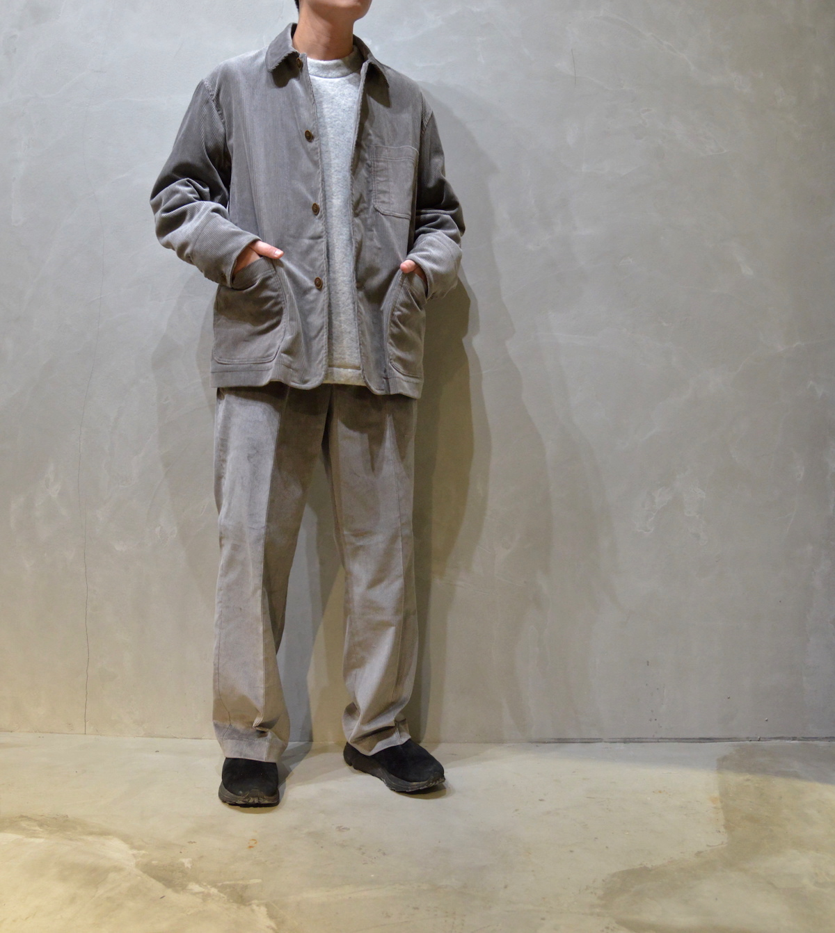 BROWN by 2-tacs 「 STRAIGHT SLACKS / GRAY 」