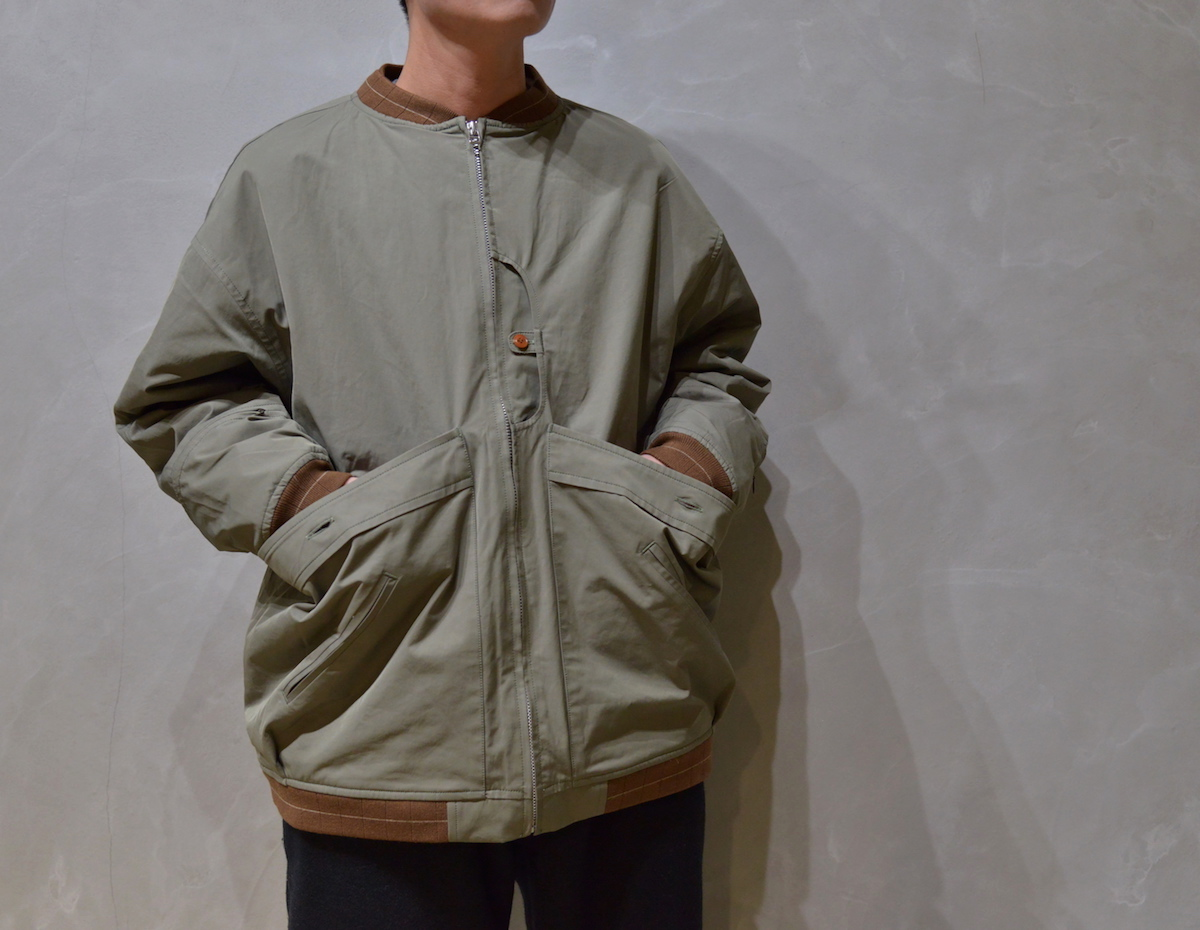 NOROLL 「 NOROLL ROUTINE JACKET / OLIVE 」