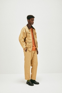 COMFORTABLE REASON「 Boa Fleece Slacks / Camel 」