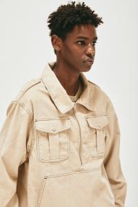 COMFORTABLE REASON「 Corduroy PO Shirts Jacket / Ivory 」