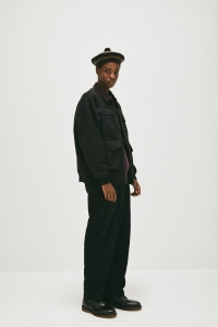COMFORTABLE REASON「 Boa Fleece Slacks / Black 」