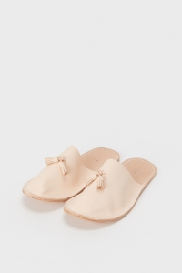 Hender Scheme「leather slipper / natural 」
