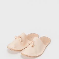Hender Scheme「leather slipper / natural 」