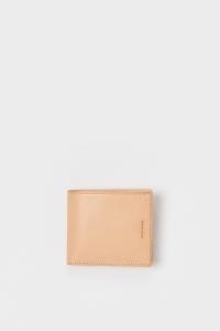 Hender Scheme「half folded wallet / natural」