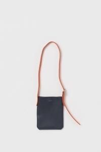 Hender Scheme 「 one side belt bag small / navy」