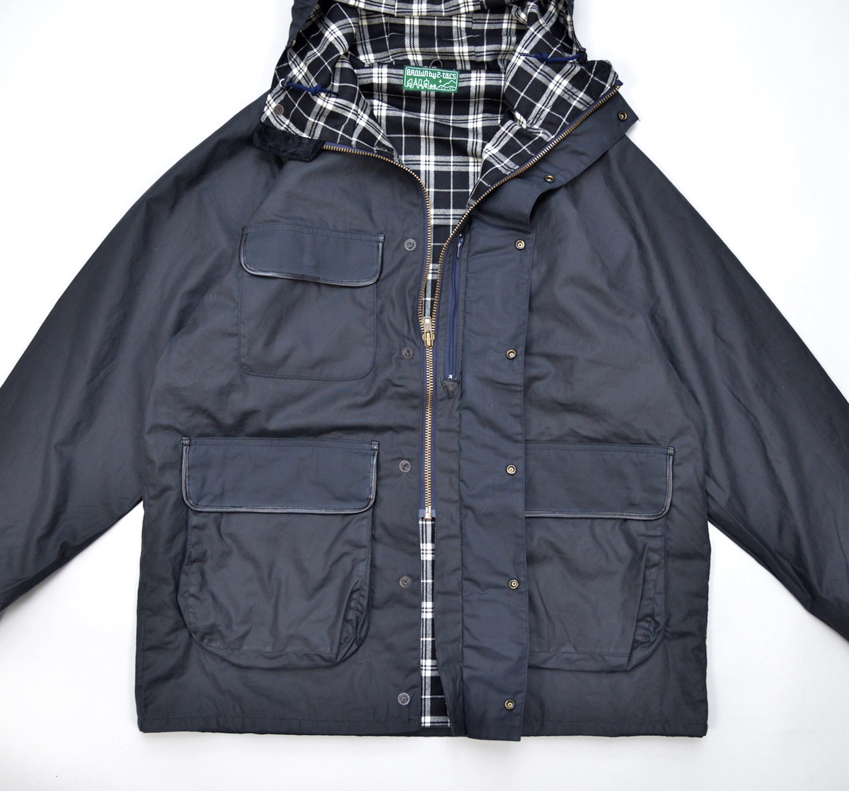 BROWN by 2-tacs 「 MOUNTAIN PARKA / NAVY  *The British Millerain Co.Ltd.」