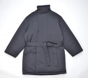WHOWHAT 「 TIBET HALF COAT /  BLACK 」