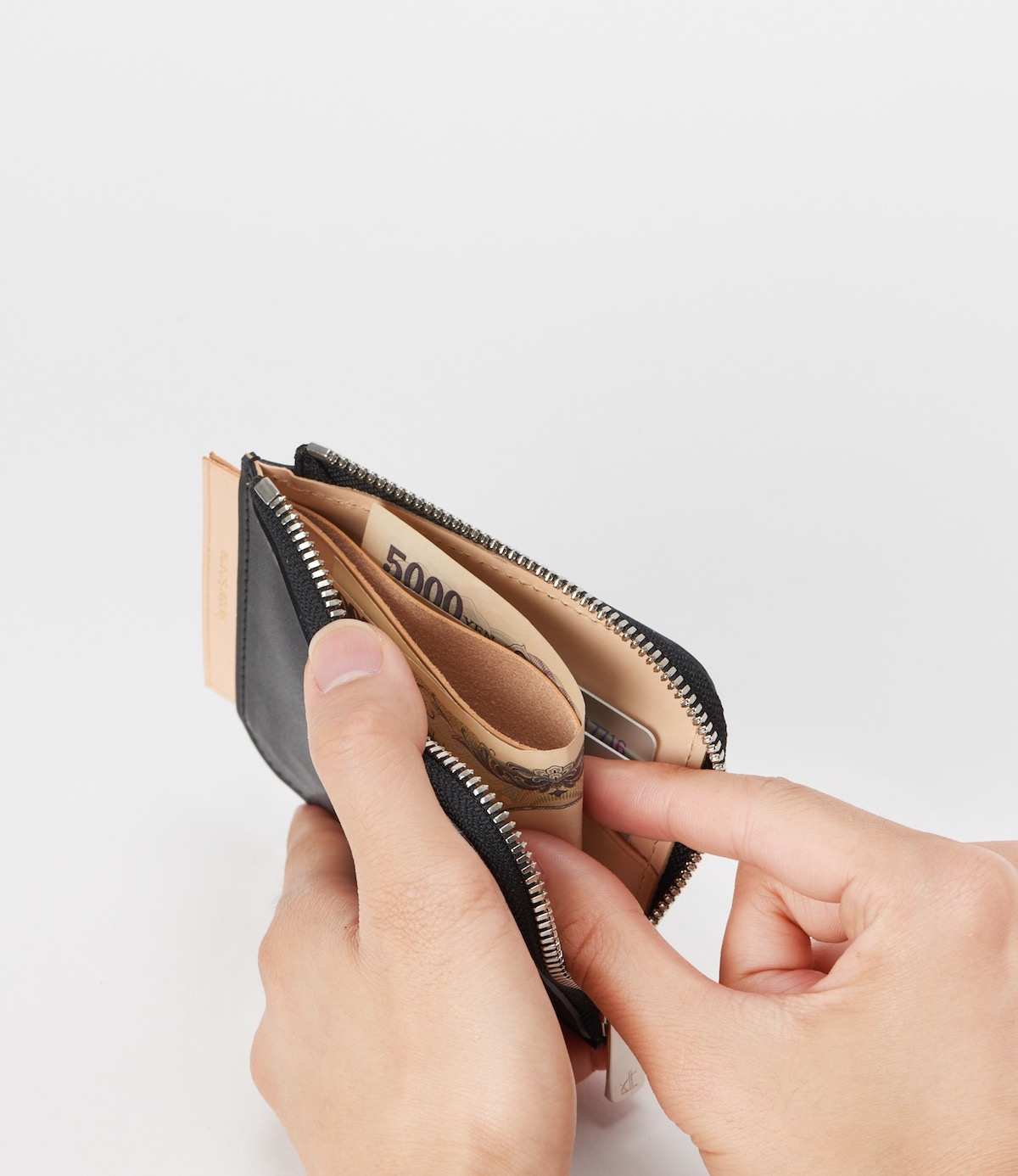 Hender Scheme「 L purse / black」