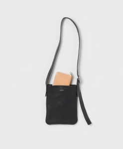 Hender Scheme 「 one side belt bag small / navy」--01