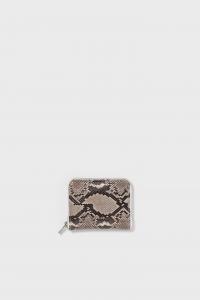 Hender Scheme 「 python square zip purse / natural python」