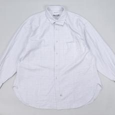 Marvine Pontiak shirt makers 「 Italian Collar SH / OX Blue CH  」
