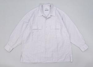 Marvine Pontiak shirt makers 「 Open Collar SH / OX RED CH 」