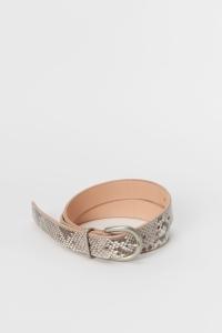 Hender Scheme「python tanning belt / natural python 」