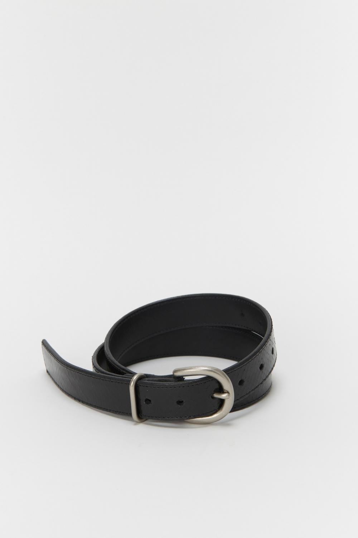 Hender Scheme「python tanning belt / black python 」