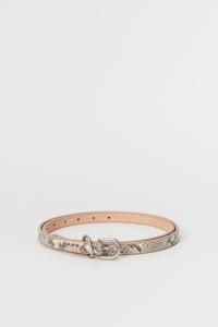 Hender Scheme 「 python tail belt / natural python 」