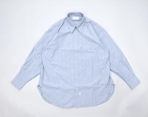 Marvine Pontiak shirt makers 「 Regular Collar 3 Button SH / Blue ST 」