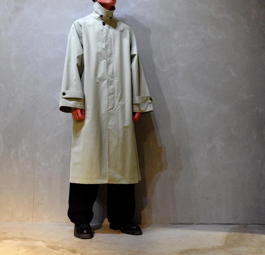 POLYPLOID「LONG COAT TYPE-B / ICE GRAY」
