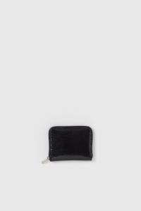 Hender Scheme「python square zip purse / black python」