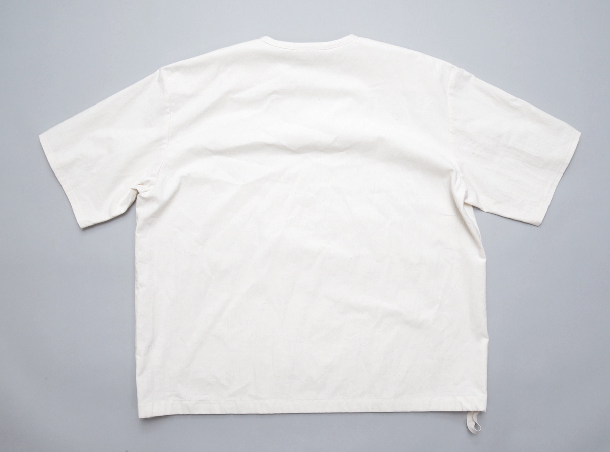 POLYPLOID「DRAW CORD T-SHIRT TYPE-A」