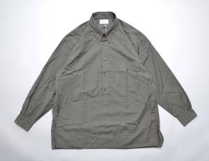 Marvine Pontiak shirt makers 「 Tab Collar L/S SH / Graph CH 」