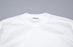 AURALEE 「 STAND-UP TEE / WHITE 」--06