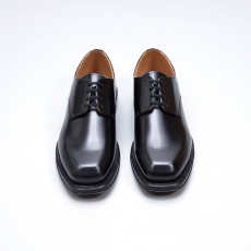 AURALEE「 LEATHER SHOES MADE BY FOOT THE COACHER / BLACK 」