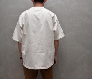 AURALEE 「 STAND-UP TEE / WHITE 」--13