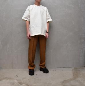 AURALEE 「 STAND-UP TEE / WHITE 」--14