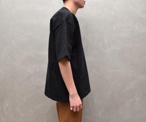 AURALEE 「 STAND-UP TEE / BLACK 」--12