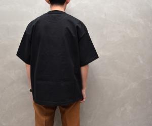 AURALEE 「 STAND-UP TEE / BLACK 」--13