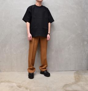 AURALEE 「 STAND-UP TEE / BLACK 」--14