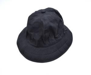 "MAN-TLE 「 CAP2 ""SIX PANEL HAT"" / BLACK 」"