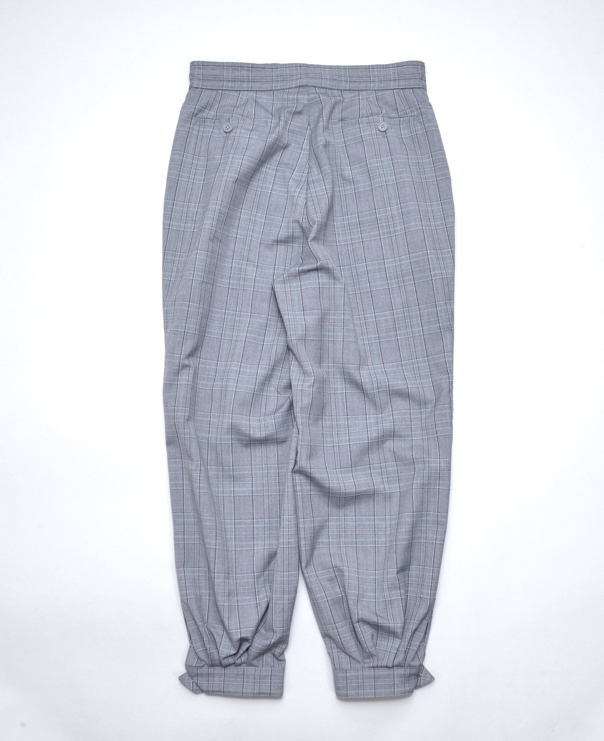 HOMELESS TAILOR 「 CUFF PANTS 」