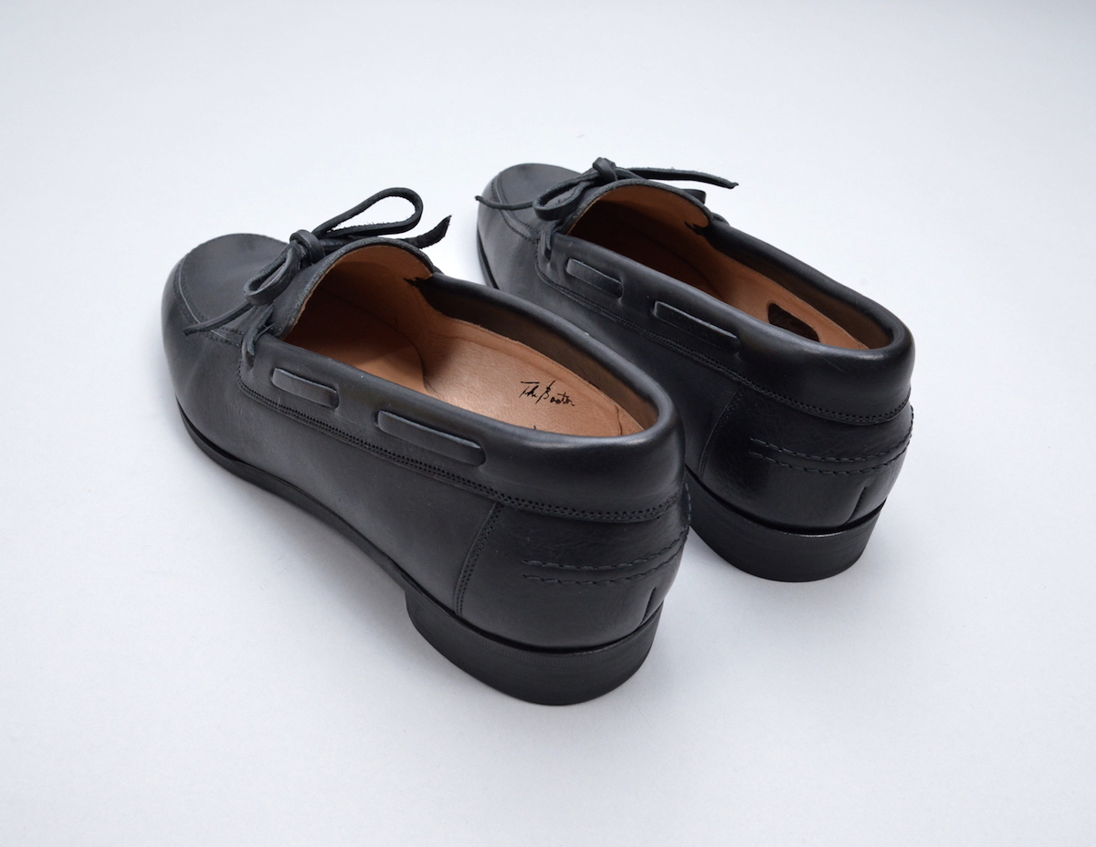 """OLD JOE BRAND.「""""The Boater"""" VACHTTA LEATHER MOCCASIN SHOES」"""