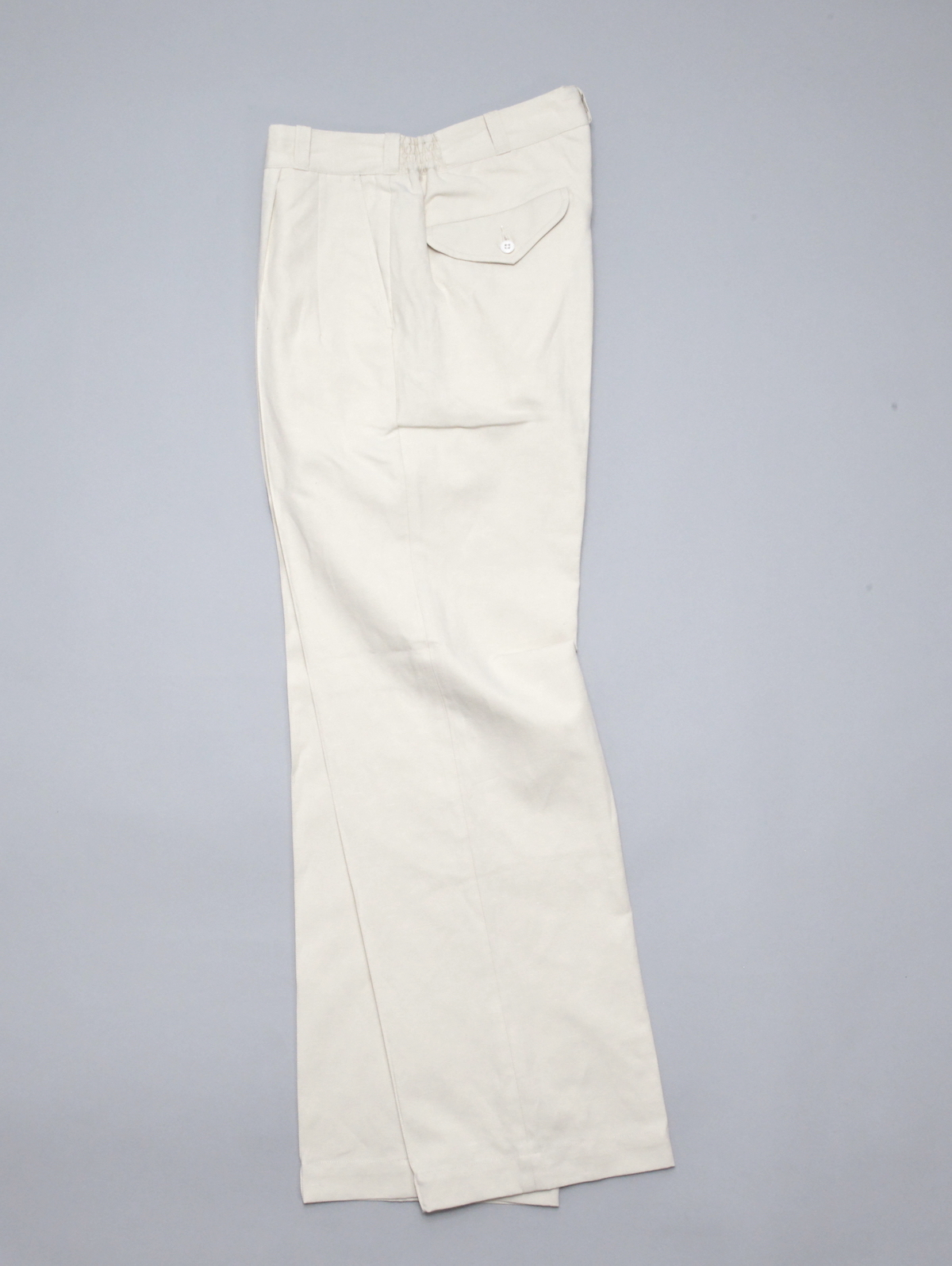 OLD JOE BRAND.「FRONT TUCK ARMY TROUSER / NATURAL 」