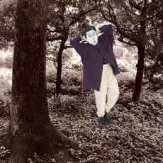 HOMELESS TAILOR 「 STAND COLLAR SHIRT / MIX BLUE 」