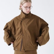 WHOWHAT 「 TIBET BLOUSON / BROWN 」