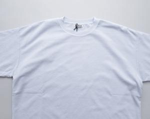 AURALEE 「 HARD TWIST AMUNZEN DOUBLE CLOTH TEE / LIGHT BLUE 」--07