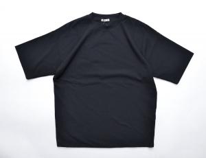 AURALEE 「 HARD TWIST AMUNZEN DOUBLE CLOTH TEE / BLACK 」--03