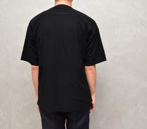 AURALEE 「 HARD TWIST AMUNZEN DOUBLE CLOTH TEE / BLACK 」--10