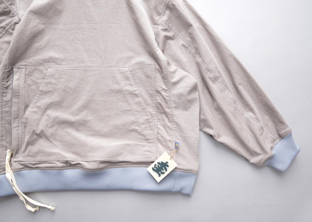 T.CABLIN 「 A-002 CREW HOOD (CORDS) / BEIGE 」