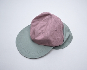 NOROLL 「 AWNING CAP / PINK×GREEN