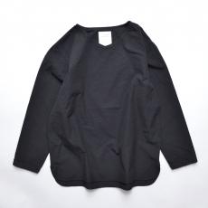 AUGUSTE-PRESENTATION PajamaLook 「 ダンガリー長袖プルオーバー / BLACK 」