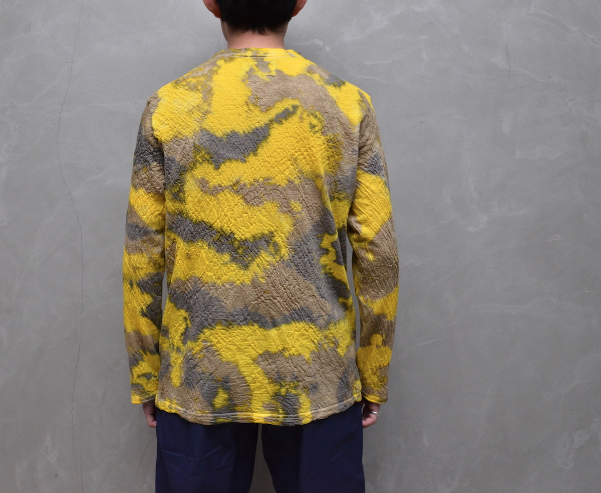 BROWN by 2-tacs 「 BAA #1 CREW L/S -DYEING- 」