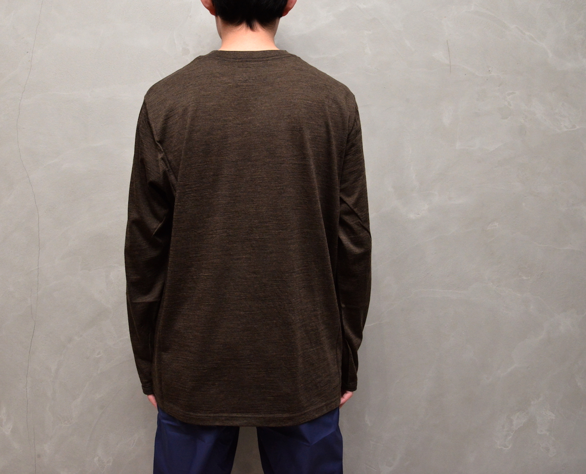 BROWN by 2-tacs 「 BAA #1 CREW L/S 」